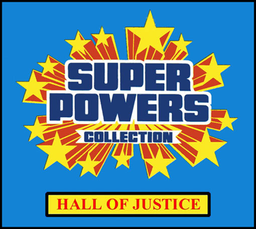 Hall of Justice Super Powers Website