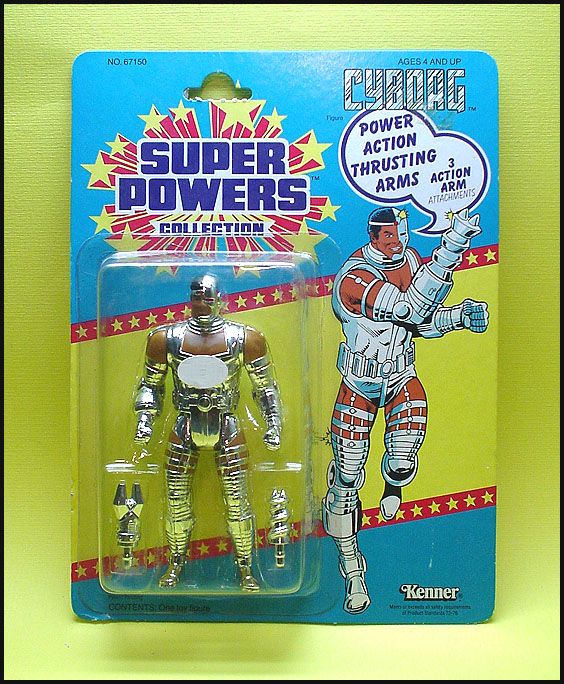 super powers cyborg